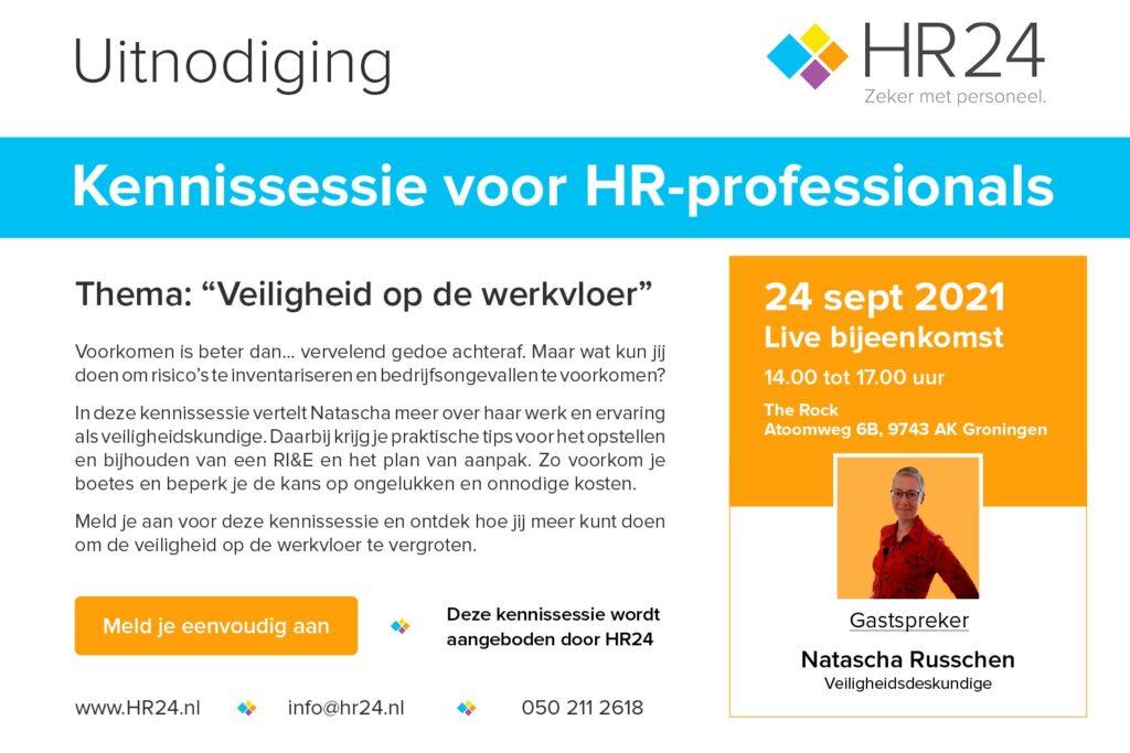 Uitnodiging kennissessie voor HR-professionals